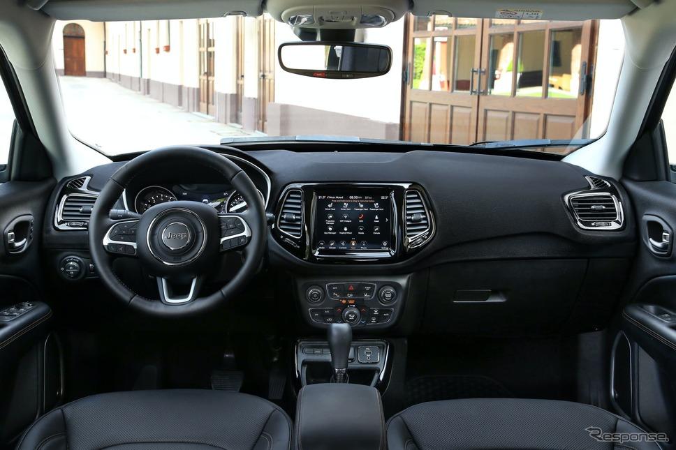 ジープ ・コンパス 改良新型(欧州仕様)《photo by Jeep》