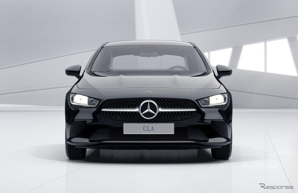メルセデスベンツCLAクーペ新型のPHV「CLA250 e クーペ」《photo by Mercedes-Benz》