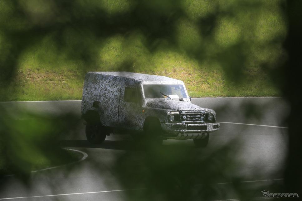 イネオス グレナディア 開発車両(スクープ写真)《APOLLO NEWS SERVICE》