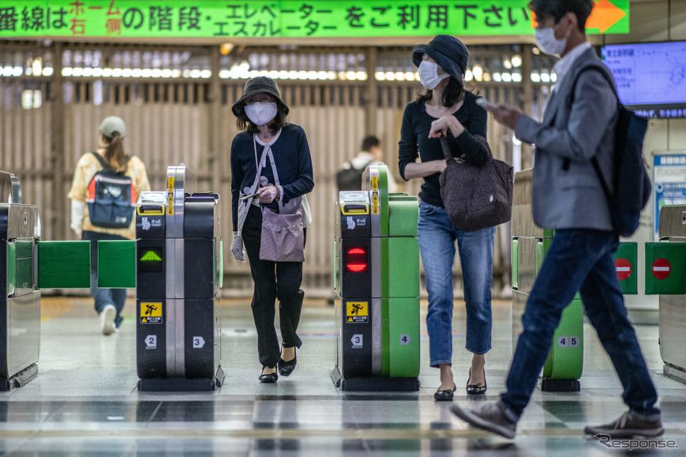 東京渋谷(5月25日)《Photo by Carl Court/Getty Images》