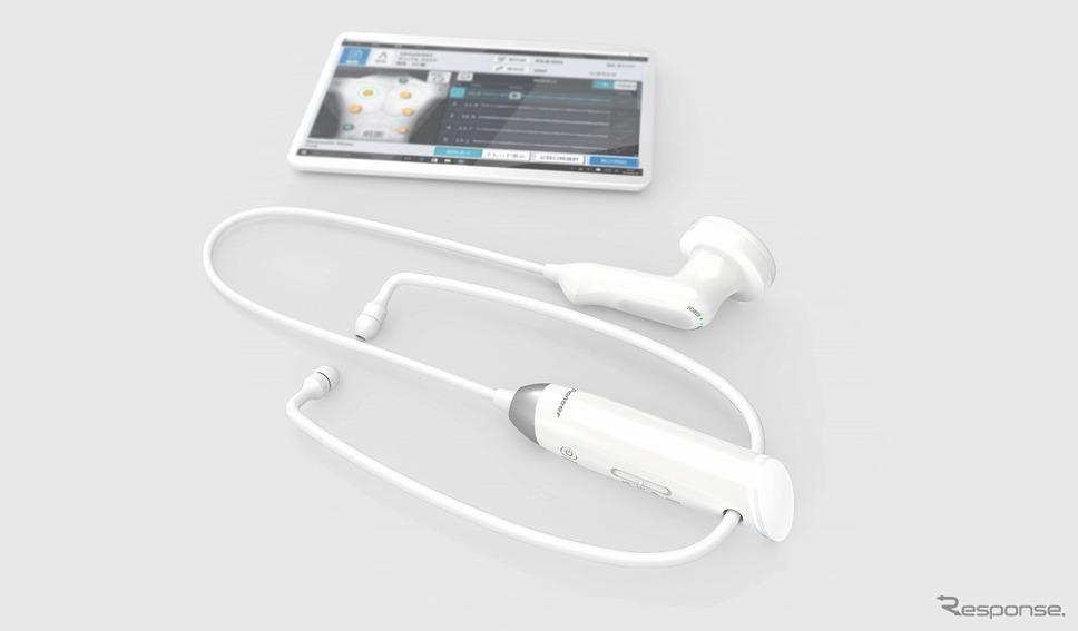 パイオニア製電子聴診器MSS-U11C《画像:パイオニア》