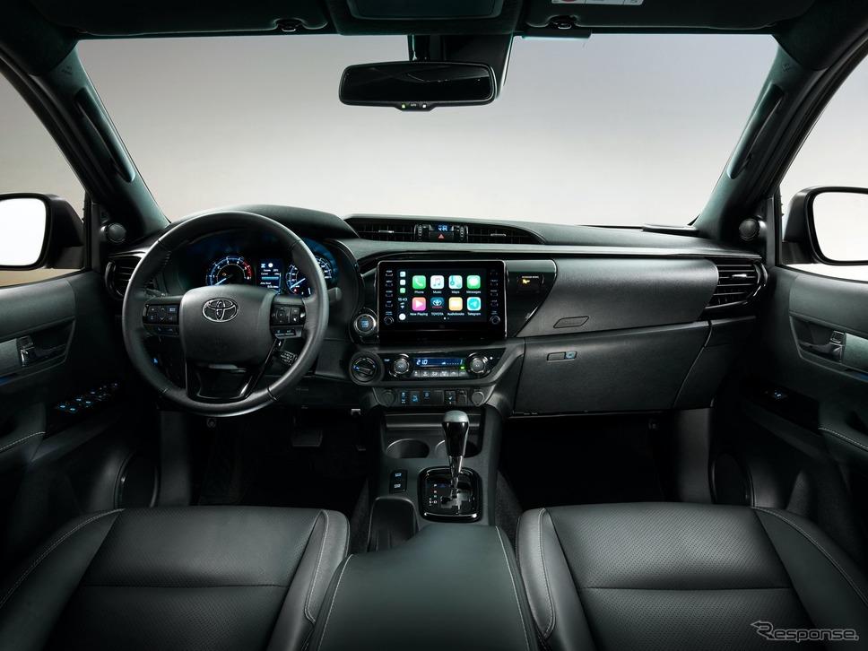 トヨタ・ハイラックス 改良新型(欧州仕様)《photo by Toyota》