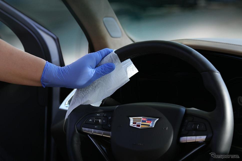 車内を除菌・抗菌して清潔な状態に保つ新アフターサービス「パーマセーフ」を開始《画像:ゼネラルモーターズジャパン》