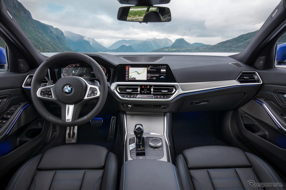 BMW 3シリーズ ・セダン 新型《photo by BMW》