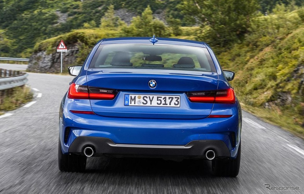 BMW 3シリーズ・セダン 新型《photo by BMW》