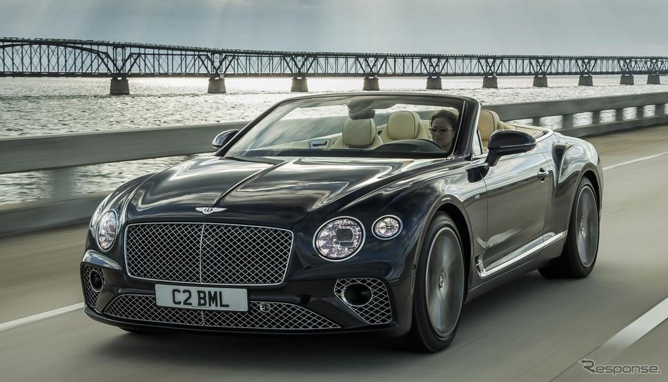 ベントレー・コンチネンタル GT V8 コンバーチブル 新型《photo by Bentley》