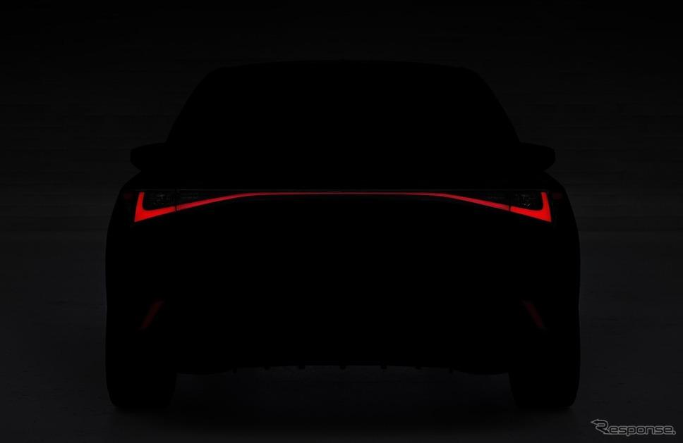 レクサス IS 新型のデザインの一部《トヨタ自動車》