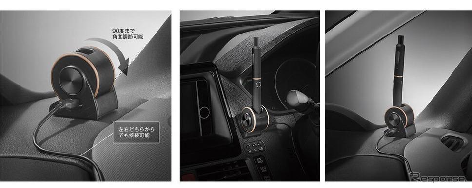 プルーム・テック・プラス用マグネット充電セット《画像:カーメイト》