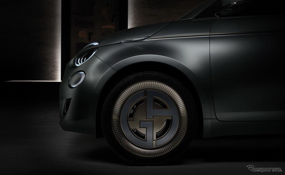 新型フィアット 500 ジョルジオ・アルマーニ《photo by Fiat》