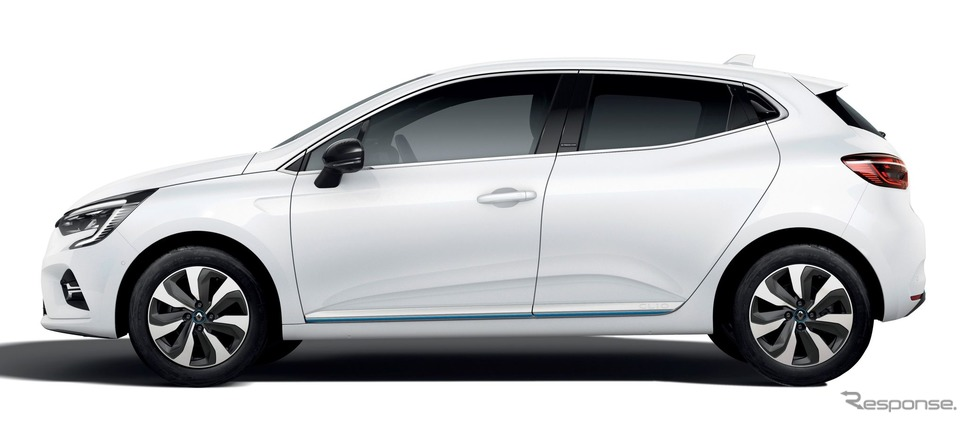 ルノー・クリオ (ルーテシアに相当)新型の「E-TECH」搭載車《photo by Renault》