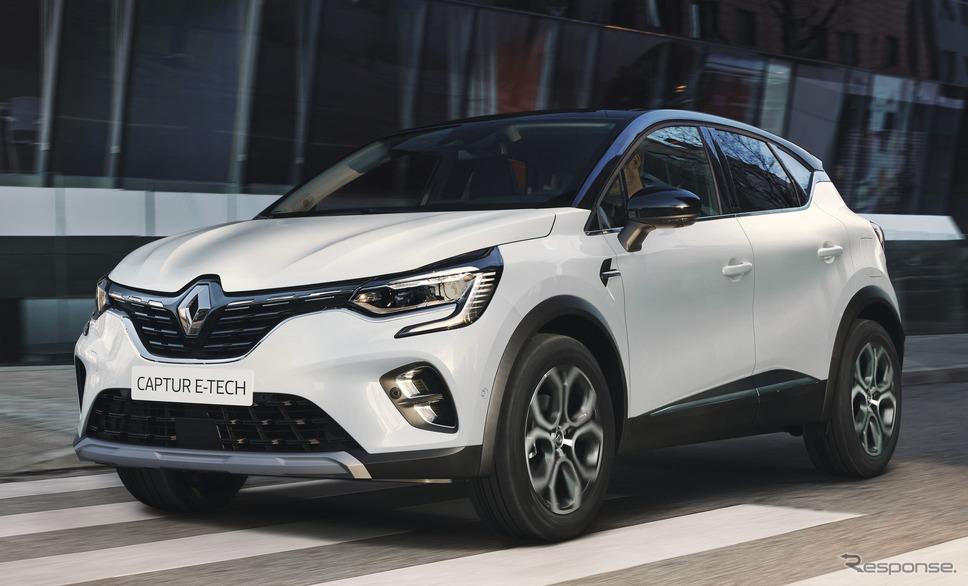 ルノー・キャプチャー 新型のPHV《photo by Renault》