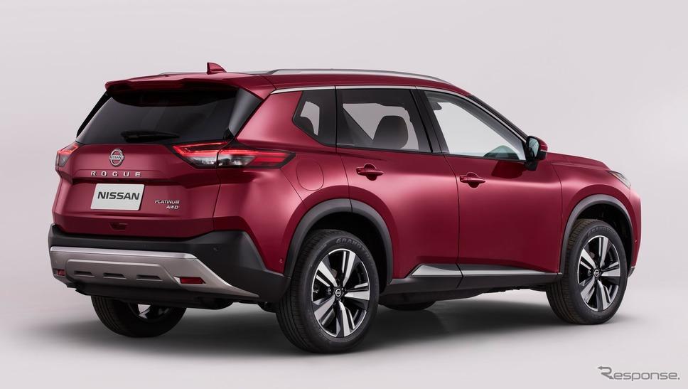 日産ローグ(北米市場向け。日本市場のエクストレイルに相当)新型《photo by Nissan》
