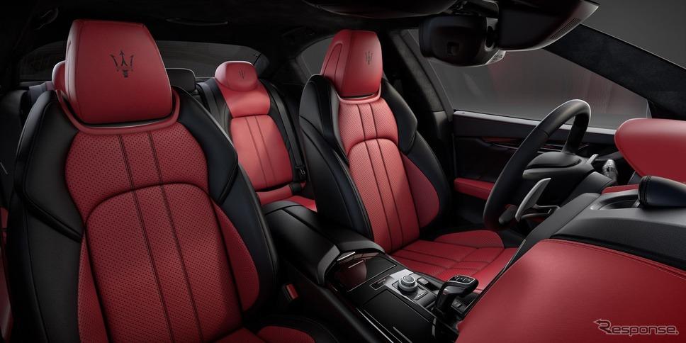 マセラティ・ギブリ 現行型(参考画像)《photo by Maserati》