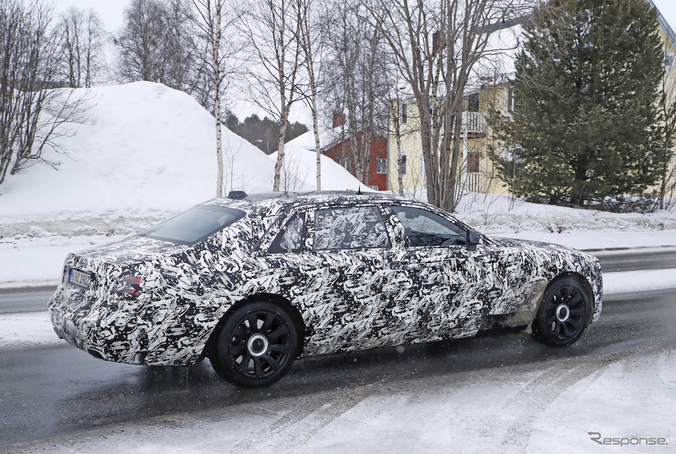 ロールスロイス ゴースト エクステンデッド・バージョン 開発車両(スクープ写真)《APOLLO NEWS SERVICE》