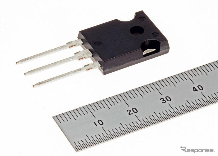 SiC-MOSFET 1200V-Nシリーズ《写真提供 三菱電機》