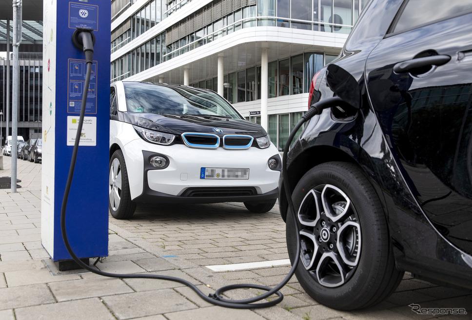 ボッシュの電動車向け充電システム《photo by Bosch》