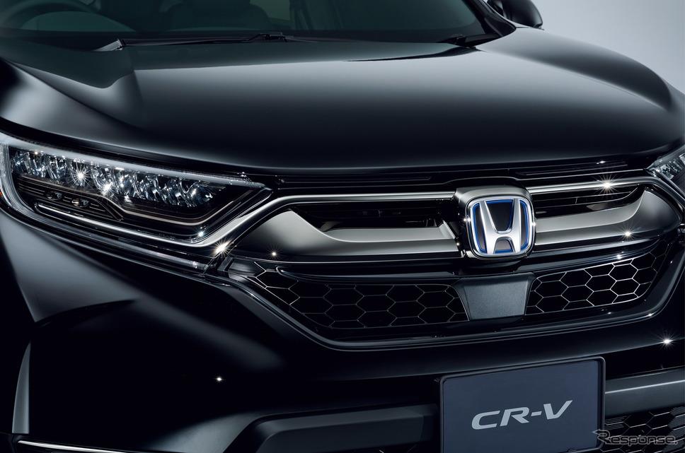ホンダ CR-V ブラックエディション《画像:本田技研工業》