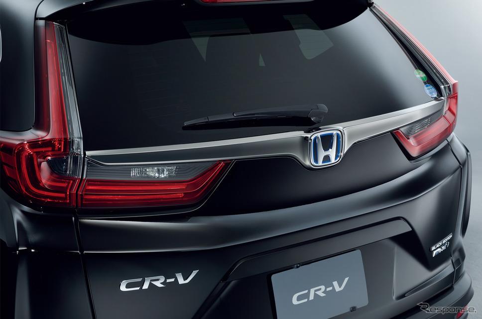 ホンダ CR-V ブラックエディション スモークタイプのLEDリアコンビネーションランプ《画像:本田技研工業》