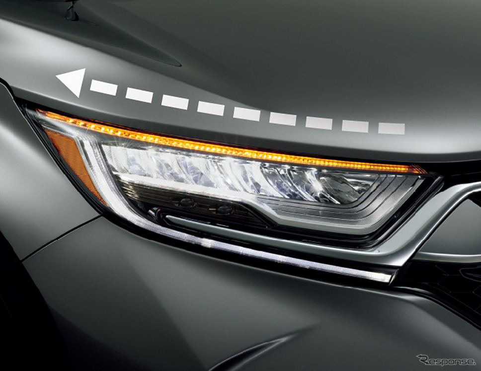 ホンダ CR-V 改良新型 シーケンシャルターンシグナルランプ《画像:本田技研工業》