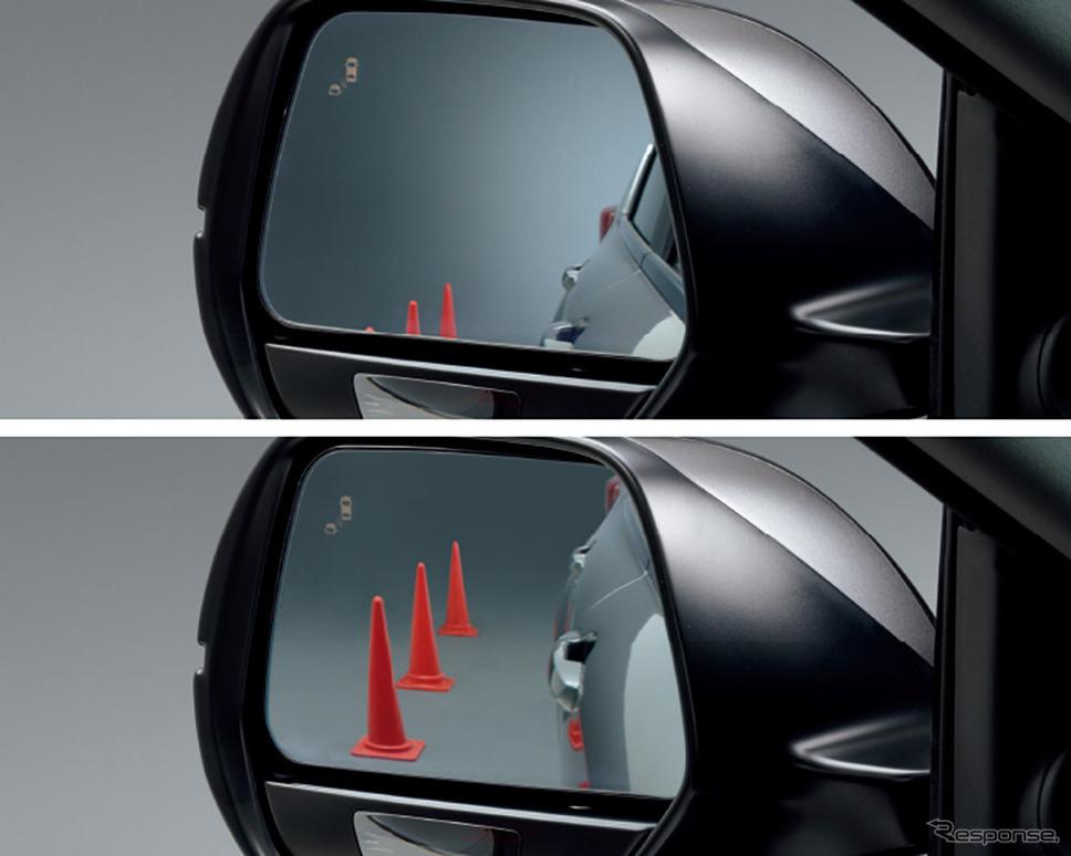 ホンダ CR-V 改良新型 、ステアリングヒーター、リバース連動ドアミラー《画像:本田技研工業》