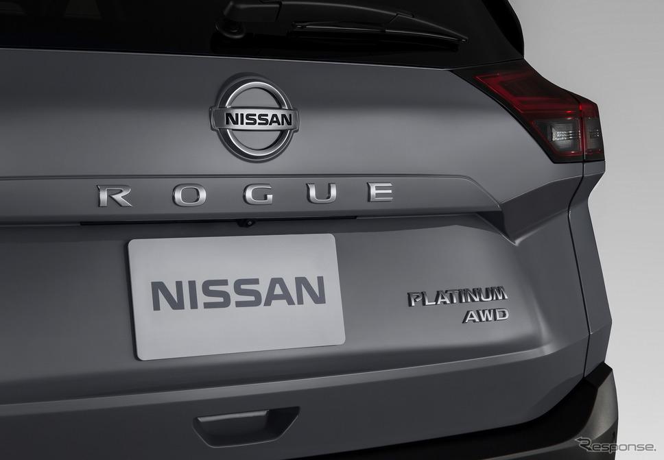 日産 ローグ( エクストレイル に相当)新型《photo by Nissan》