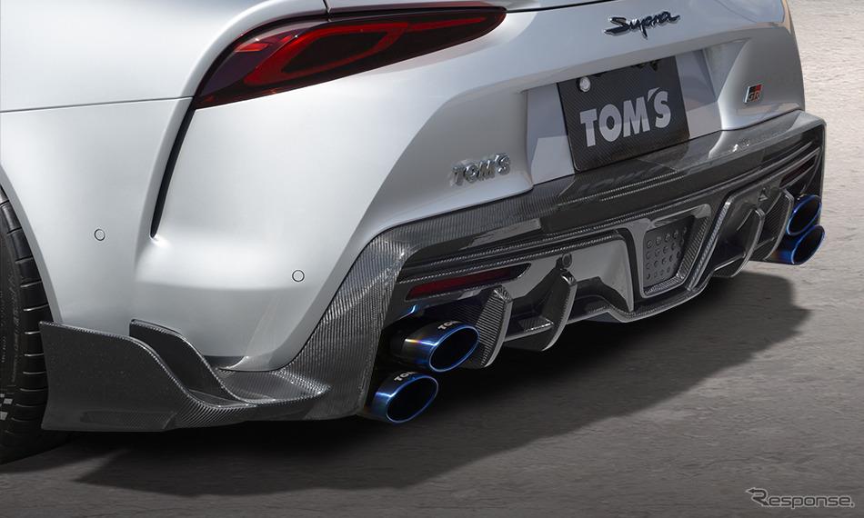 リヤディフューザー&エキゾーストシステム「トムス・バレル」装着例《画像:トムス》