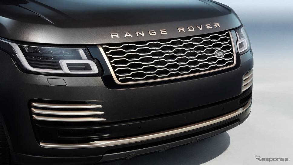 ランドローバー・レンジローバー の50周年記念車「レンジローバー・フィフティ」《photo by Land Rover》