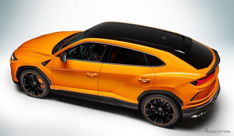 ランボルギーニ・ウルス の2021年モデルの「パールカプセル」《photo by Lamborghini》