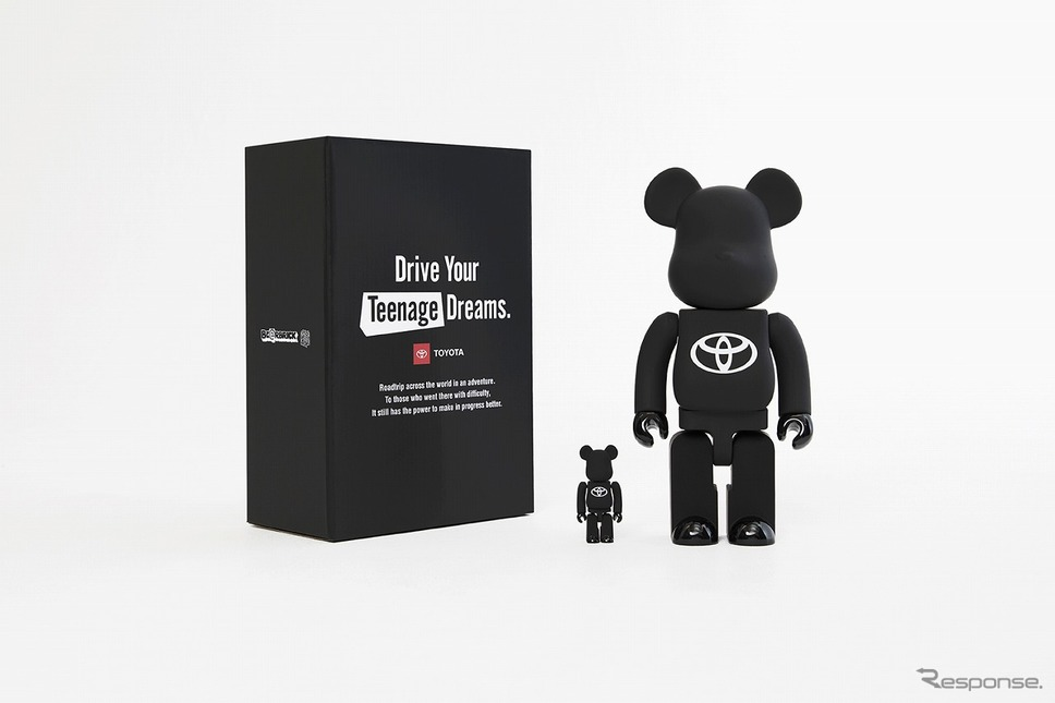 "BE@RBRICK TOYOTA ""Drive Your Teenage Dreams.""《画像:STARBASE》"