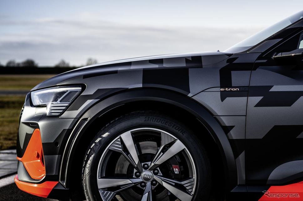 アウディ e-tron S スポーツバック のプロトタイプ《photo by Audi》