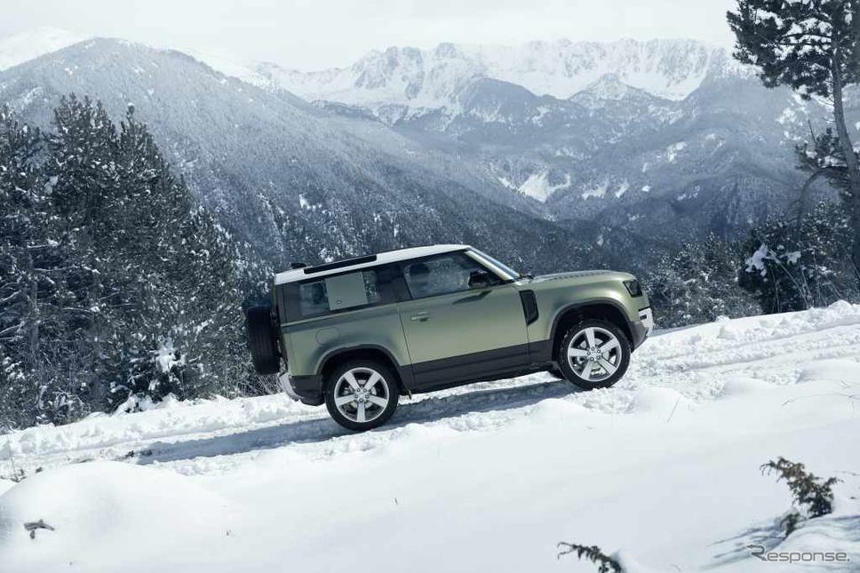 ランドローバー・ディフェンダー 新型(90)《photo by Jaguar Land Rover》