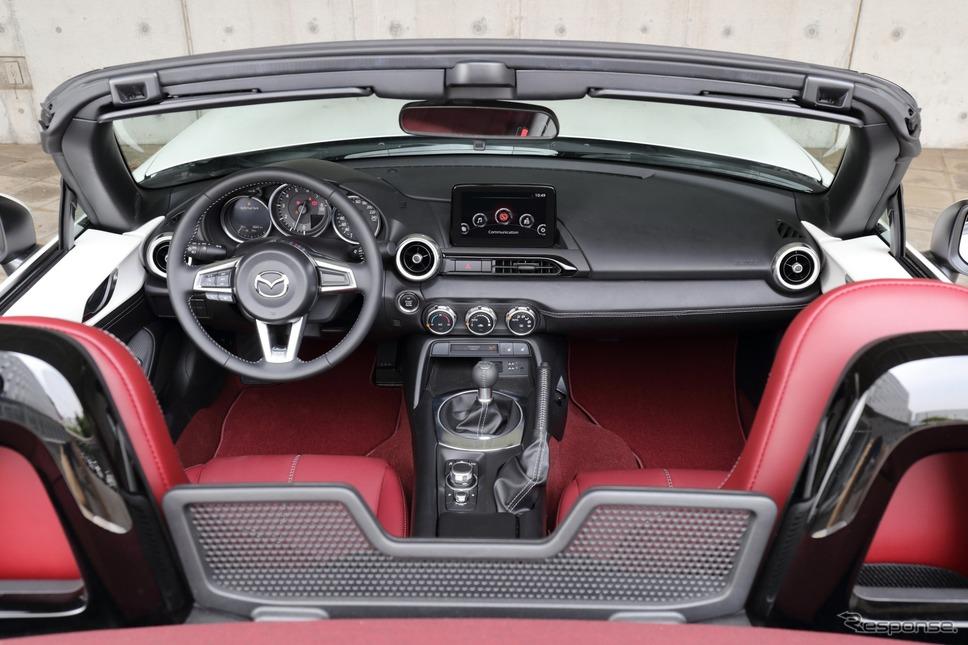マツダ・ロードスター 100周年特別記念車《写真提供 マツダ》
