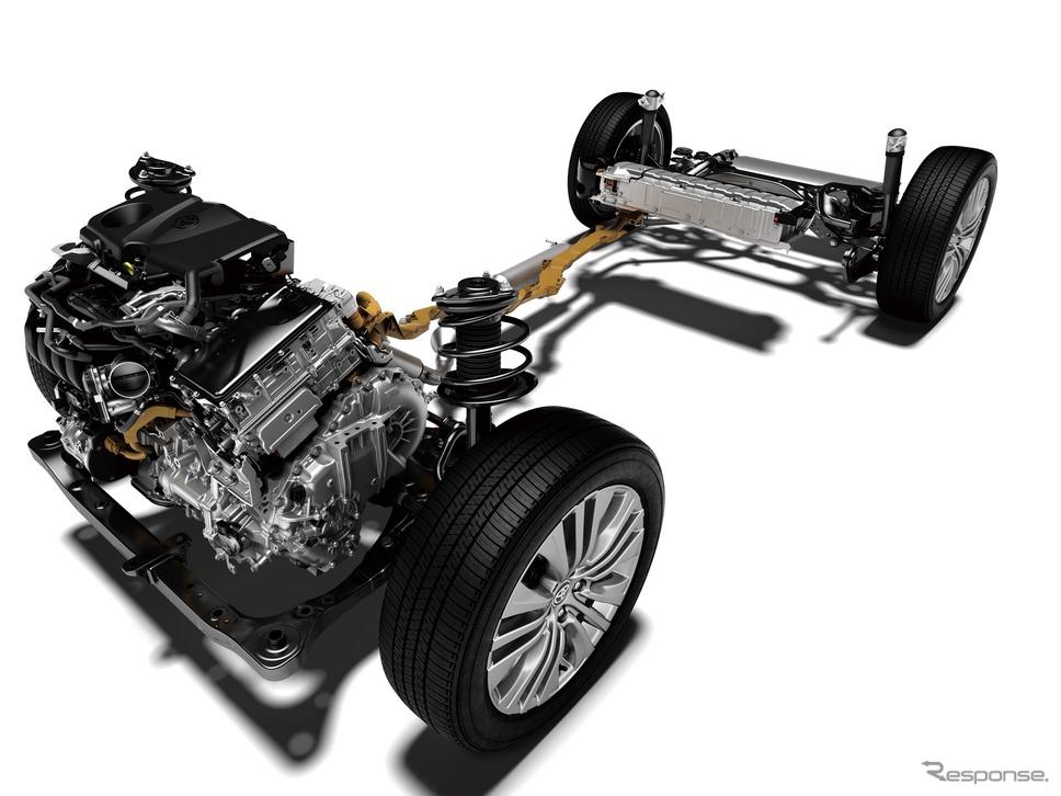 トヨタ・ハリアー新型のトヨタハイブリッドシステムII《写真提供 トヨタ自動車》