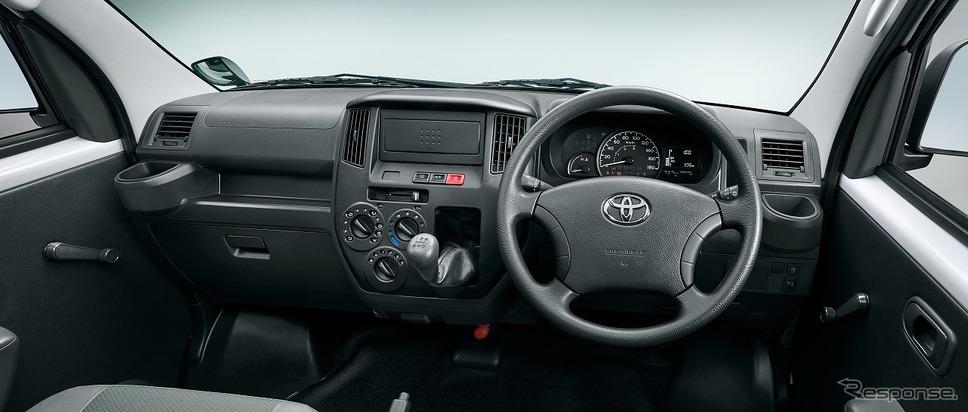 トヨタ・タウンエース・バンDX 2WD、インストルメントパネル《写真提供 トヨタ自動車》