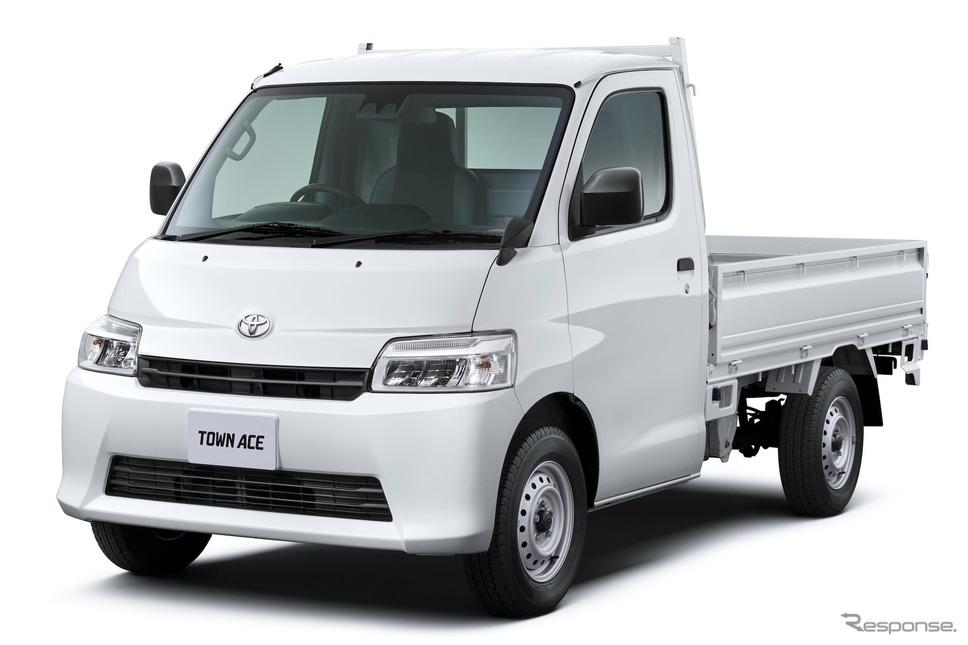トヨタ・タウンエース・トラックDX 4WD 4速AT《写真提供 トヨタ自動車》