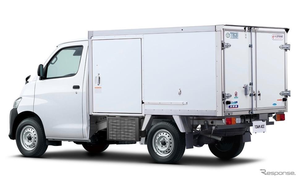 トヨタ・タウンエースTECS冷凍車、オプション装着車《写真提供 トヨタ自動車》