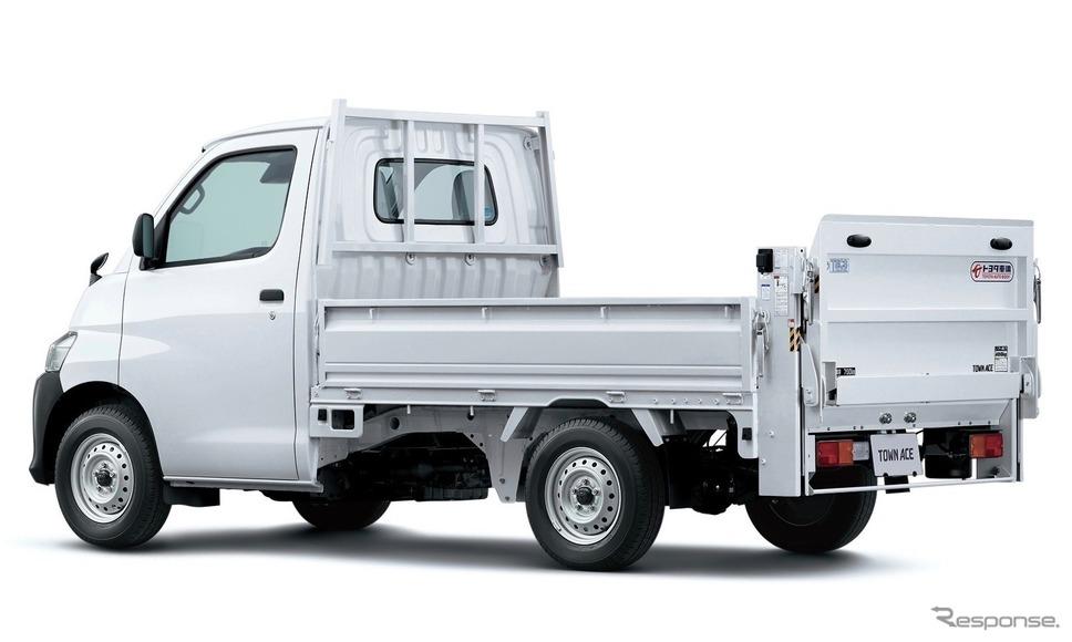 トヨタ・タウンエースTECSパワーリフト車、オプション装着車《写真提供 トヨタ自動車》