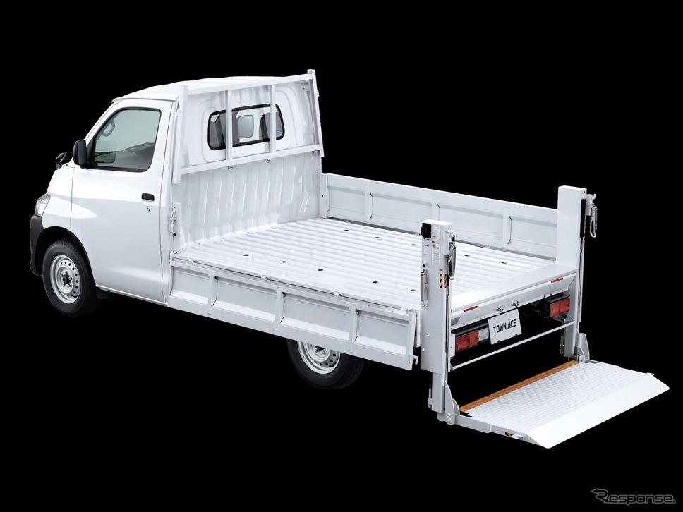 トヨタ・タウンエースTECSパワーリフト車《写真提供 トヨタ自動車》