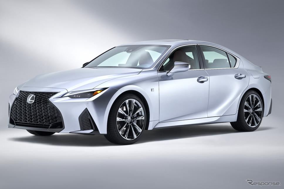 改良新型レクサス IS《photo by Lexus》