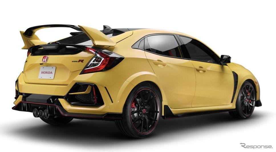ホンダ・シビック・タイプR 改良新型のリミテッドエディション(北米仕様)《photo by Honda》