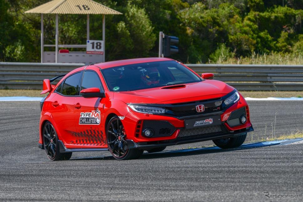 タイプRチャレンジ2018(7月、エストリル)《photo by Honda》