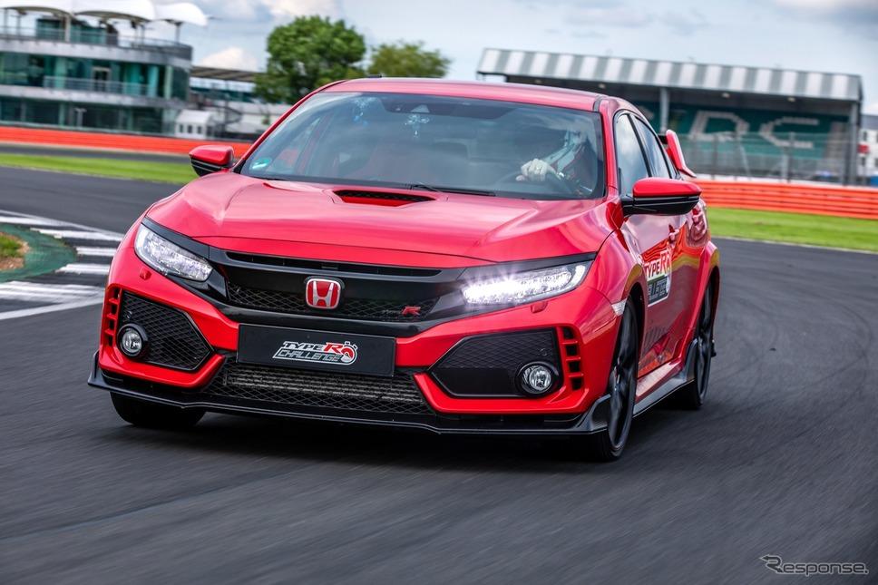 タイプRチャレンジ2018(7月、シルバーストン)《photo by Honda》