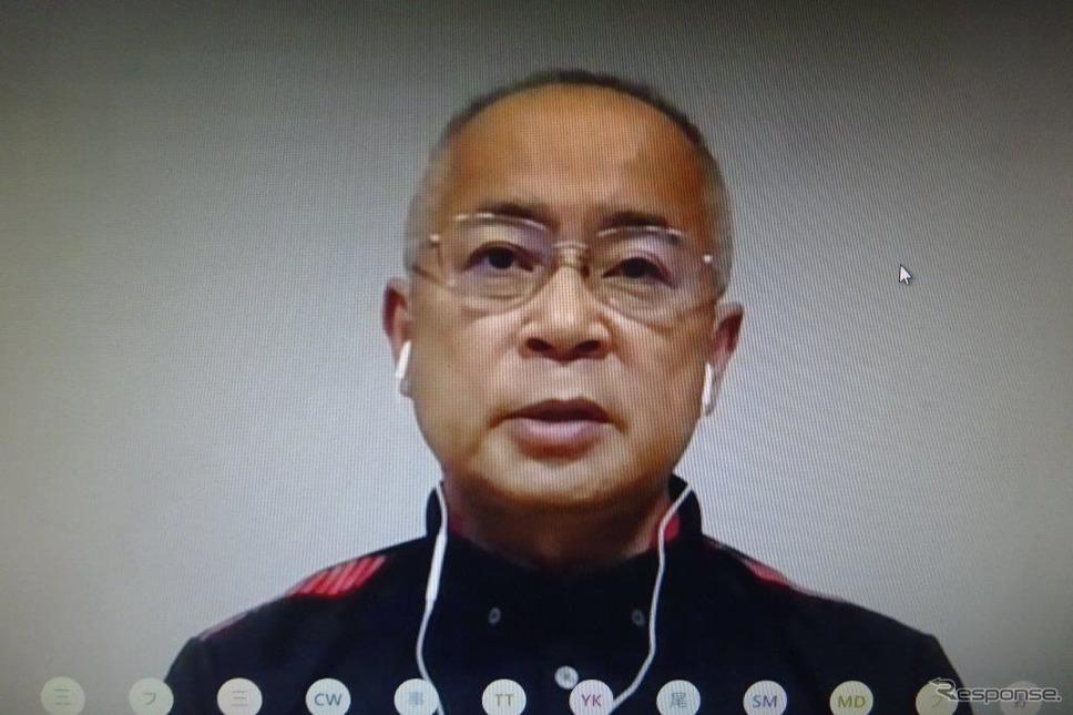 F1パワーユニット(PU)開発総責任者である浅木泰昭氏《撮影 池原照雄》