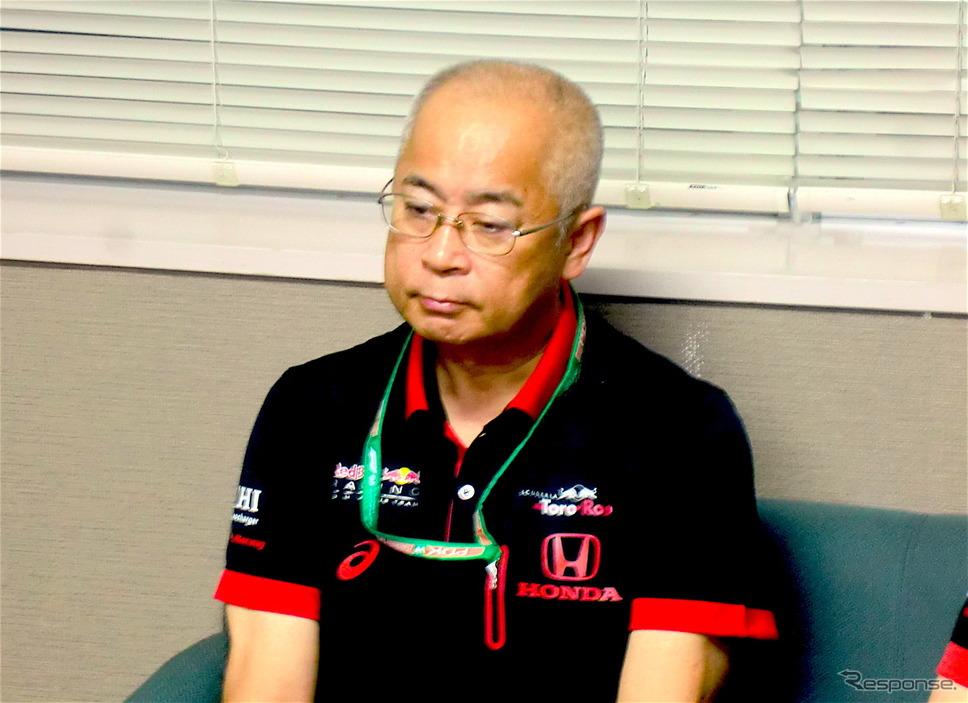ホンダの浅木泰昭氏(写真は2019年日本GP)。《撮影 遠藤俊幸》