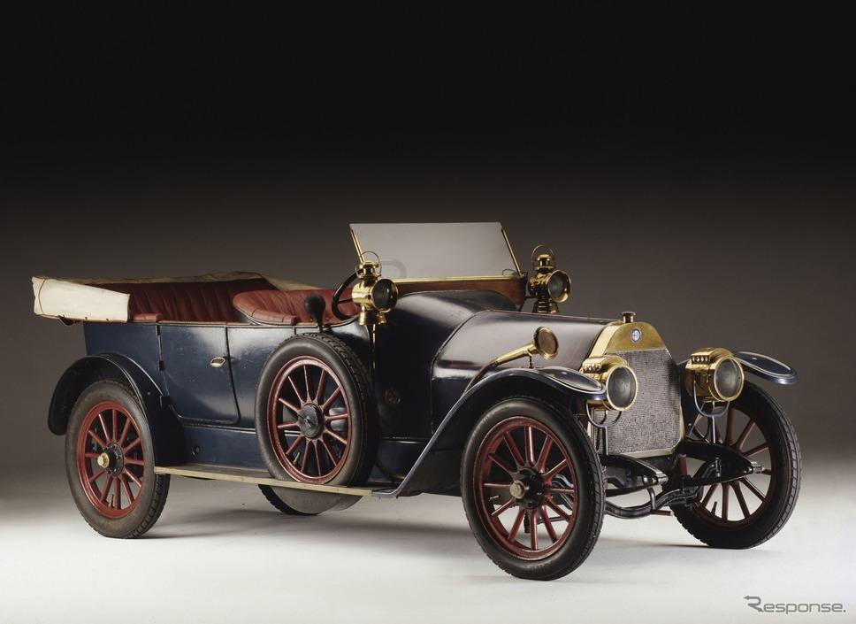 アルファロメオの第一号車「24HP」(1910年)《photo by Alfa Romeo》
