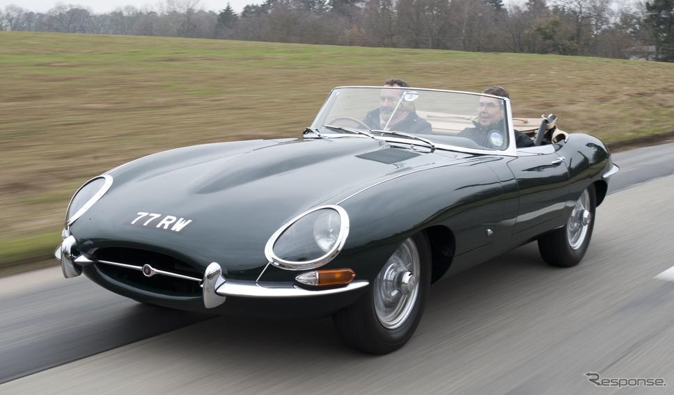 ジャガー Eタイプ(1961年)《photo by Jaguar Cars》