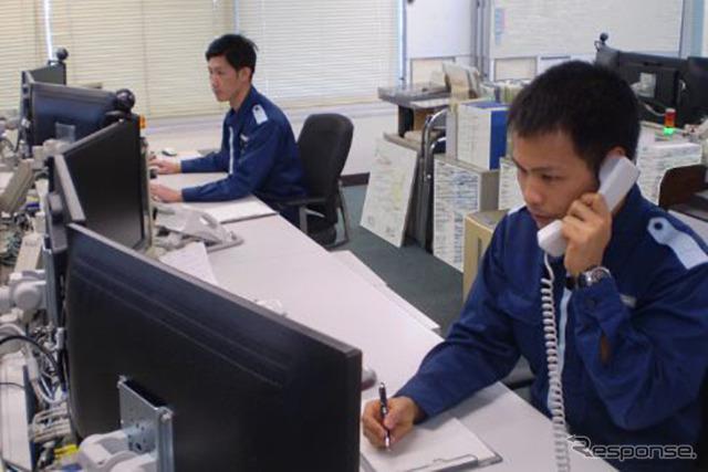 運用司令センター出典:海上保安庁ホームページ (https://www.kaiho.mlit.go.jp/recruitment/occupation/security.html)