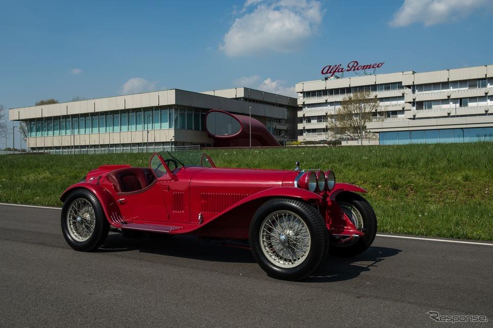 アルファロメオ歴史博物館のコレクション(8C 2300 ミッレミリア)《photo by Alfa Romeo》