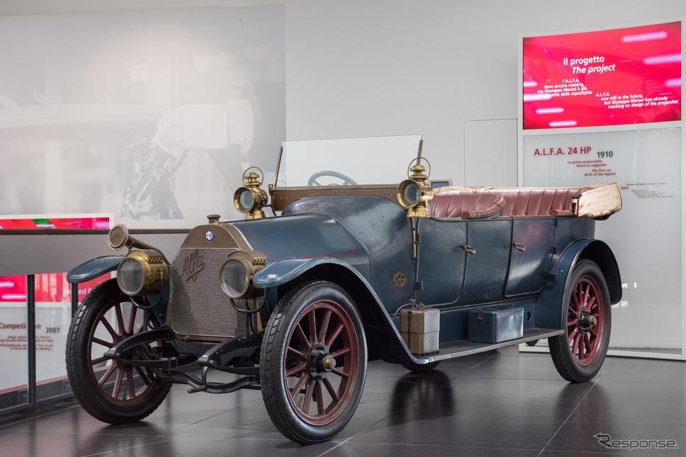 アルファロメオ歴史博物館のコレクション(24HP)《photo by Alfa Romeo》