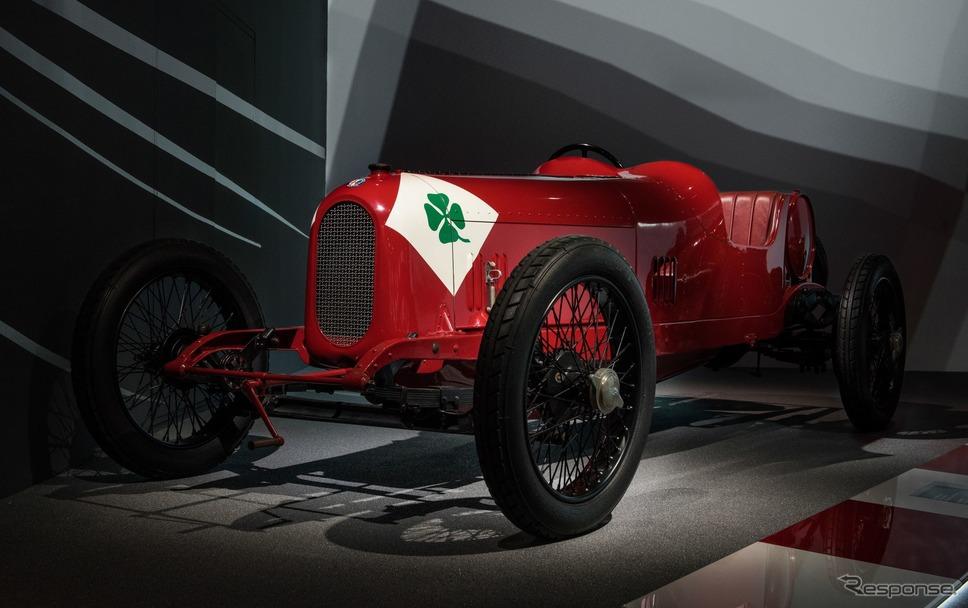 アルファロメオ歴史博物館のコレクション(RL タルガ・フローリオ )《photo by Alfa Romeo》